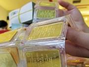 Mua sắm - Giá cả - Giá vàng bật tăng, lấy lại mốc 34 triệu đồng/lượng