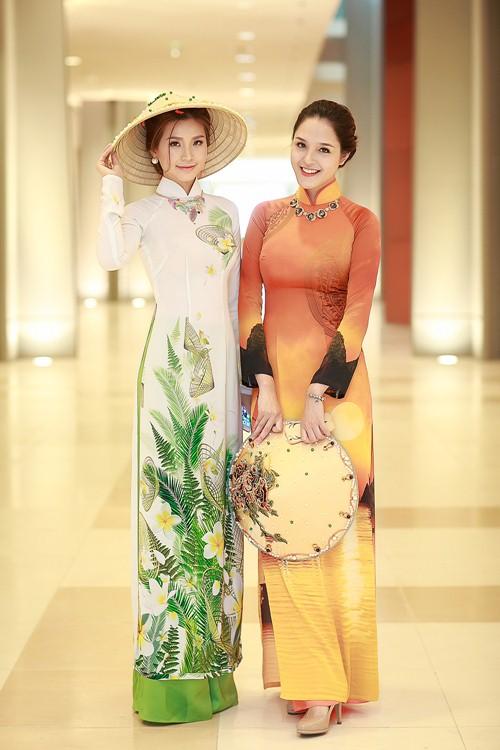 Á hậu Diễm Trang khoe đường cong gợi cảm tại Hà Nội-10