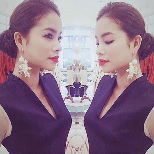 Hoa hậu Phạm Hương đẹp ngọt ngào giữa đời thường-10