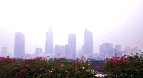 """Chìm trong sương mù, Sài Gòn thành """"Đà Lạt thứ hai""""-4"""