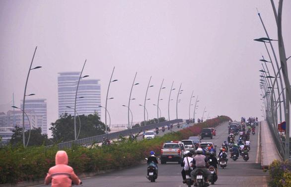 """Chìm trong sương mù, Sài Gòn thành """"Đà Lạt thứ hai""""-8"""