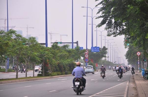 """Chìm trong sương mù, Sài Gòn thành """"Đà Lạt thứ hai""""-9"""