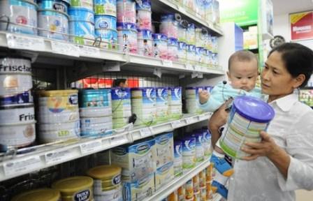 Giá sữa cho trẻ dưới 6 tuổi giảm 0,1-34%-1