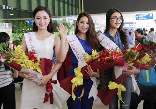 HH Phạm Hương gây tắc nghẽn sân bay Tân Sơn Nhất-10