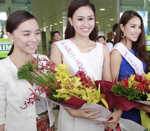 HH Phạm Hương gây tắc nghẽn sân bay Tân Sơn Nhất-7