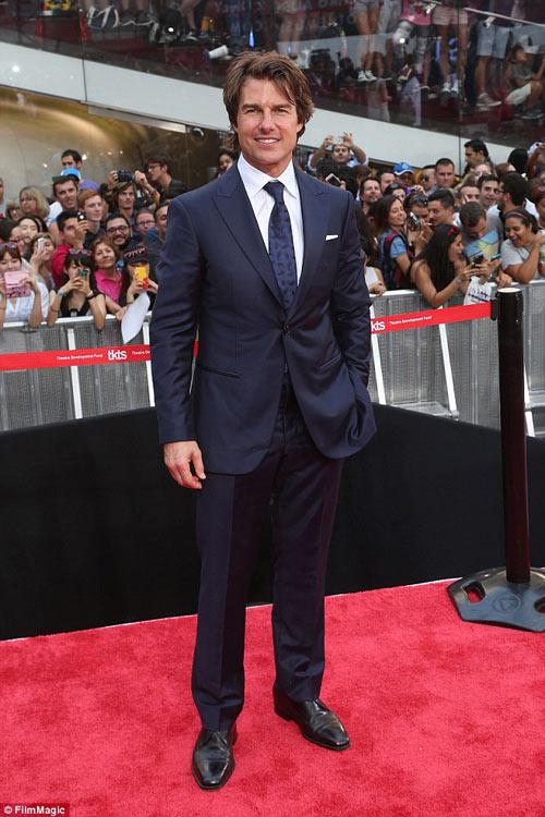 Tom Cruise không tới dự lễ cưới của con gái nuôi-2