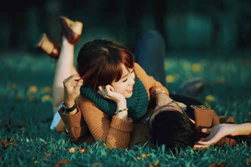 """Bộ ảnh cưới """"nắng vàng trên cỏ xanh"""" cặp đôi Hà Thành-1"""