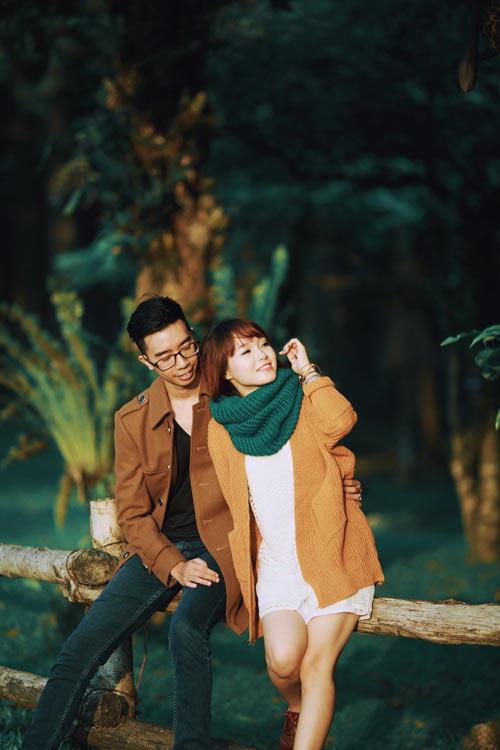 """Bộ ảnh cưới """"nắng vàng trên cỏ xanh"""" cặp đôi Hà Thành-4"""