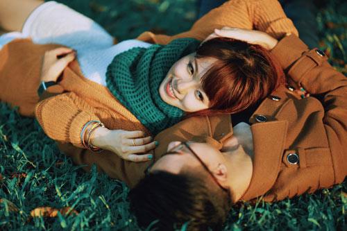 """Bộ ảnh cưới """"nắng vàng trên cỏ xanh"""" cặp đôi Hà Thành-8"""