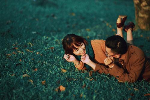 """Bộ ảnh cưới """"nắng vàng trên cỏ xanh"""" cặp đôi Hà Thành-13"""