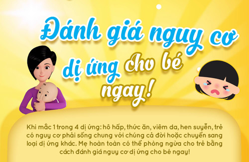 infographic: danh gia nguy co di ung cho be ngay! - 1