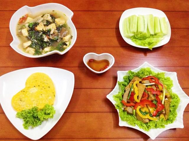 Bữa cơm chiều giản dị mà ngon-1