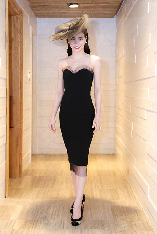 """Những chiếc đầm đen đẹp """"muốn xỉu"""" của mỹ nhân Việt-2"""