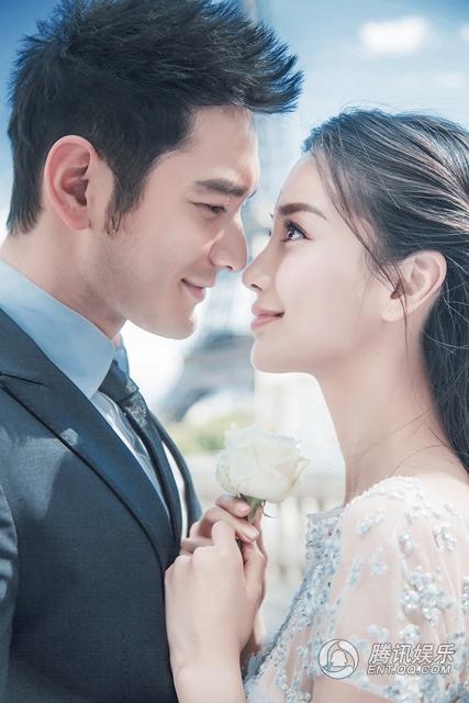 Huỳnh Hiểu Minh đặt vương miện tặng Angela Baby - 1