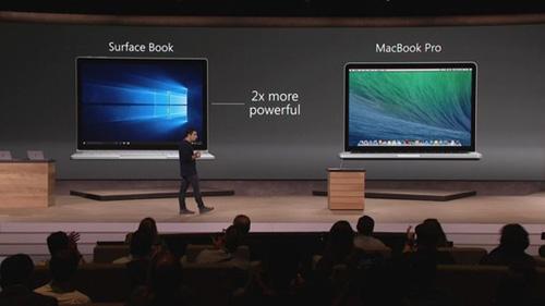 surface pro 4 va ke thach thuc macbook pro - 2