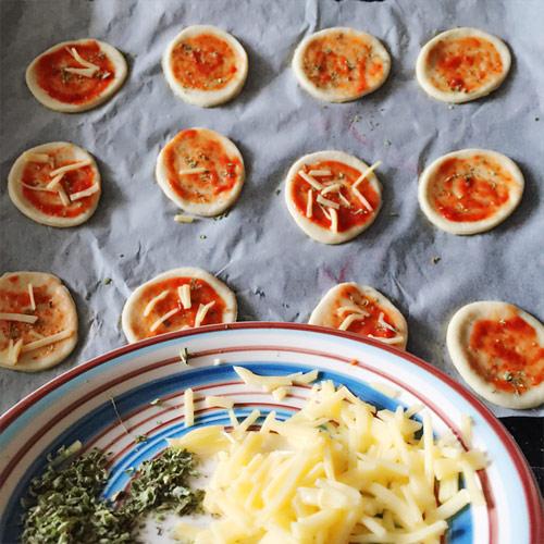 banh quy pizza mini ngon la mieng - 6