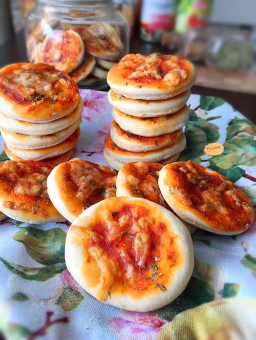 banh quy pizza mini ngon la mieng - 9