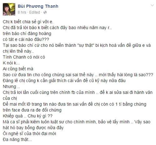 "phuong thanh ""phat nan"" vi luon bi cho rang da tung tat ha ho - 2"