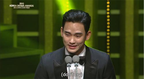 kim soo hyun thang giai daesang tai korea drama awards - 1
