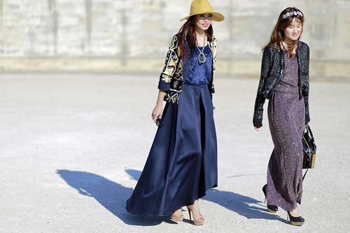 street style viet ron rang paris fashion week xuan he 2016 - 8