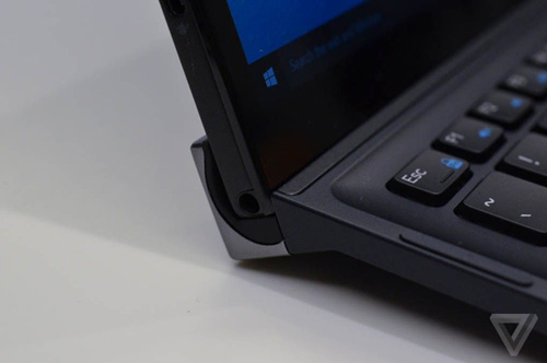 "xps 12 moi cua dell dung nam cham de ""bien hinh"" tu tablet thanh laptop - 7"