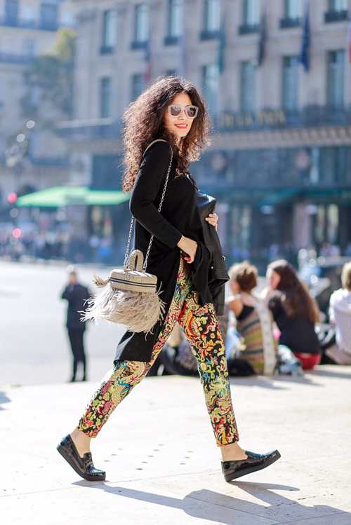 street style viet ron rang paris fashion week xuan he 2016 - 4