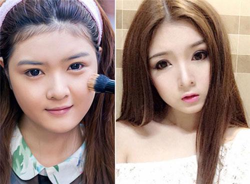 nhan sac khac la cua 3 hot girl viet 'dao keo' noi tieng nhat - 1