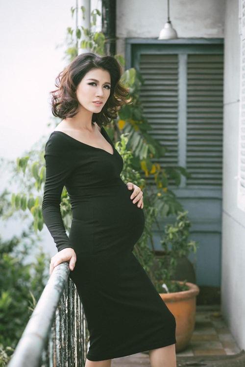 trang tran tang 7kg khi mang thai o thang thu 8 - 7