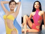 Làng sao - Ngắm các tài nữ Cbiz diện bikini thời mới vào nghề