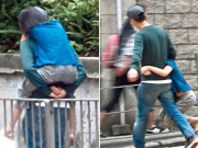 Người nổi tiếng - Fan ngưỡng mộ trước hình ảnh Trương Gia Huy cõng con gái
