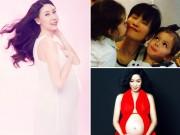Mang thai 3-6 tháng - Những mỹ nhân Việt mang bầu khi đã 40 tuổi