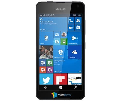Rò rỉ smartphone tầm trung Lumia 650 của Microsoft-1