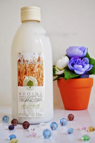 danh gia sua duong the yen mach yves rocher organic oats body lotion - 2