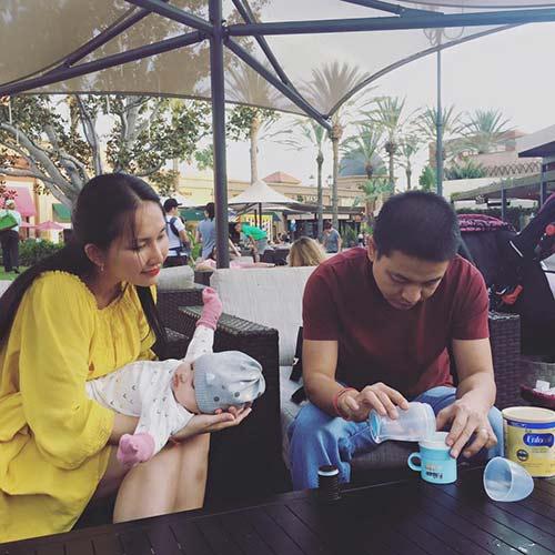 Kim Hiền đưa con gái nhỏ đi chơi cuối tuần-2