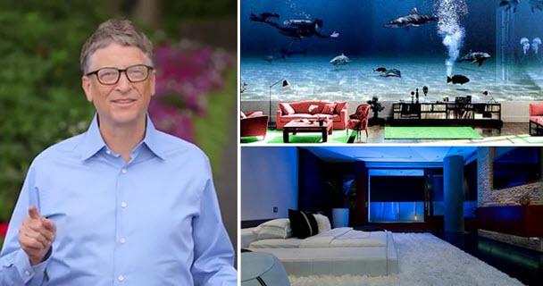 Những bức ảnh hiếm trong nhà của Bill Gates-1