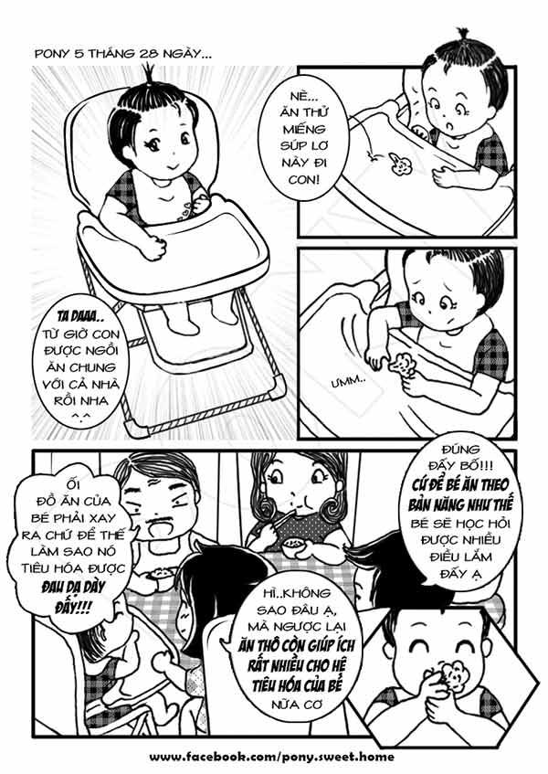 Ký sự ăn dặm bằng tranh cực bổ ích của mẹ Việt-3