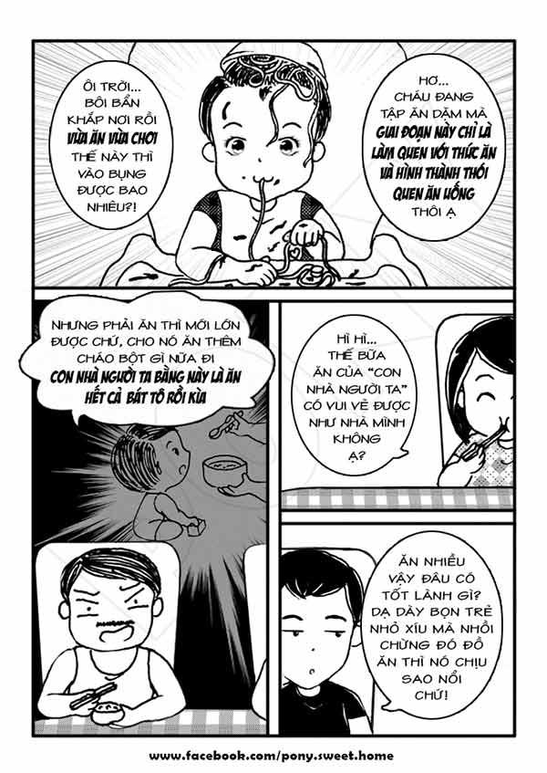 Ký sự ăn dặm bằng tranh cực bổ ích của mẹ Việt-4