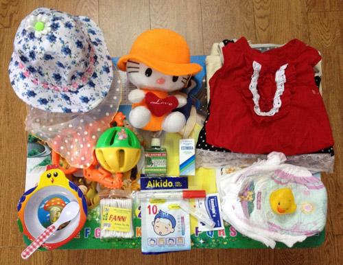 Chuẩn bị đồ cho trẻ sơ sinh đi chơi xa mùa thu-1