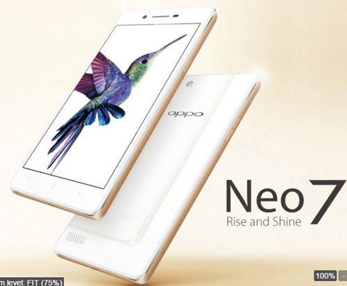 oppo neo 7 se su dung chip snapdragon 410 - 3