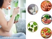 Mang thai 6-9 tháng - Mang thai tháng thứ 9: Nên và không nên ăn gì?