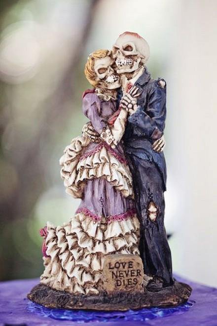 Rùng rợn với những chiếc bánh cưới Halloween-4