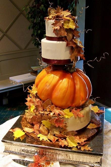 Rùng rợn với những chiếc bánh cưới Halloween-12