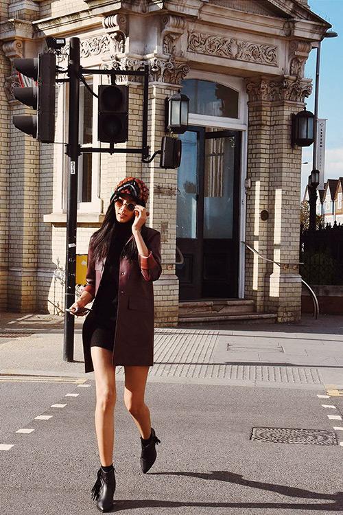 hoang thuy khoe street style ca tinh tren pho london - 2