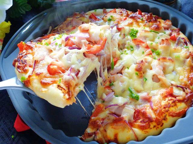 Pizza tôm ngon khó cưỡng-9