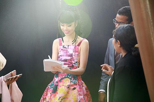 Jessica Minh Anh được nhiều hãng truyền thông lớn phỏng vấn-2