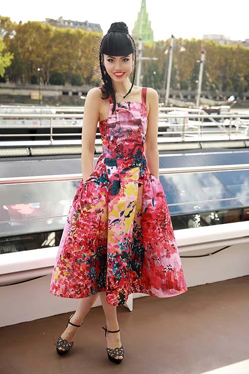 Jessica Minh Anh được nhiều hãng truyền thông lớn phỏng vấn-4