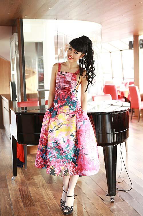 Jessica Minh Anh được nhiều hãng truyền thông lớn phỏng vấn-5