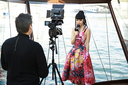 Jessica Minh Anh được nhiều hãng truyền thông lớn phỏng vấn-1