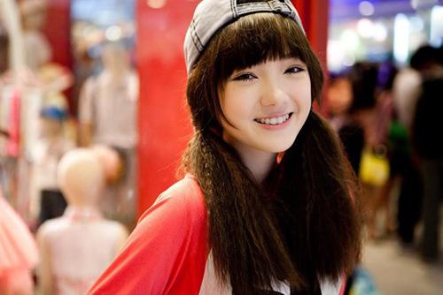 5 hot girl dep nhat thai lan va thoi trang toc dang hoc hoi - 2