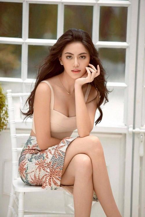 5 hot girl dep nhat thai lan va thoi trang toc dang hoc hoi - 6